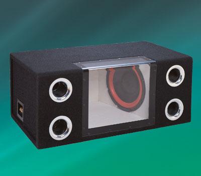 """产品名称:汽车音箱    产品简介:●  喇叭单元:2×12"""" 低音"""